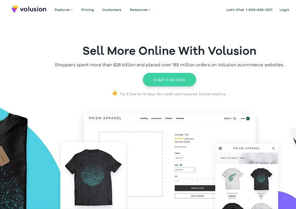 Volusion Review Plans Themes Etc 2018 Volusion Or Shopify